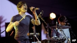 Gotye performs in April at the 2012 Coachella Valley Music and Arts Festival in Indio, California