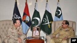 ایڈمرل ملن کی جنرل وائیں سے راولپنڈی میں ملاقات
