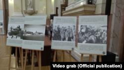 """Sa otvaranja izložbe fotografija """"Misija Halijard"""" u Narodnoj skupštini Srbije prošle godine, Foto: Video grab"""