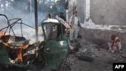Hiện trường vụ nổ bom ở Quetta, Pakistan, ngày 7/9/2011