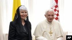 Papa Benedikt XVI završio prvi dan posjeta Hrvatskoj