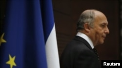 Menteri Luar Negeri Prancis Laurent Fabius