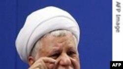 رفسنجانی از گروه های سیاسی خواست از دستورات خامنه ای پیروی کنند