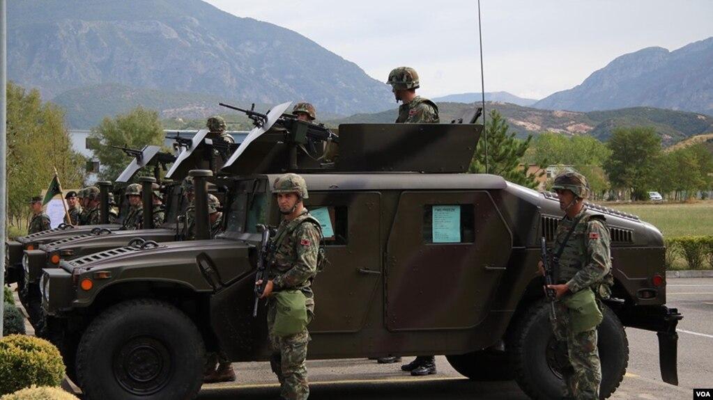 Nga SHBA autoblinda për ushtrinë shqiptare