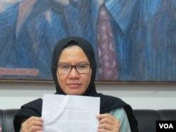 Wakil Koordinator Bidang Advokasi Kontras, Yati Andriyani. (Foto: dok).