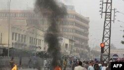 Цивільні підтримують збунтованих солдатів у столиці Малі Бамако