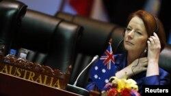 Thủ tướng Julia Gillard.