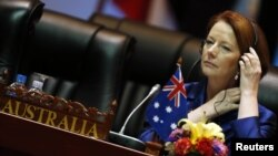 Thủ tướng Australia Julia Gillard.