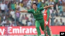 پاکستان د شل اوریز جام لومړۍ سیالي په اسانه وګټله