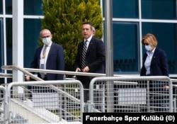 FB Başkanı Ali Koç duruşmayı yerinde takip etti.
