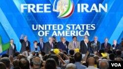 نشست ایران آزاد و حضور تعدادی از چهره های سیاسی سرشناس آمریکا