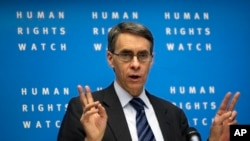 Kenneth Roth, director-executivo, HRW