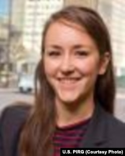Kaitlyn Vitez, higher education campaign director for the U.S. Public Interest Research Group.