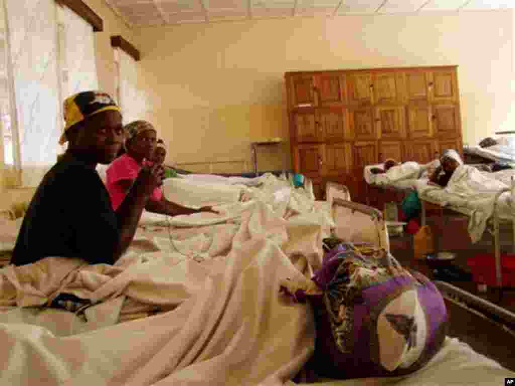 ** CORRECTS DAY IN DATE ** Patients, some recovering from surgery, in the Panzi General Hospital for rape victims in Eastern Congo close to the town of Bukavu, Democratic Republic of Congo on Saturday, June. 11, 2005. In Congo, for those who manage to sur