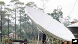 中国将为老挝制造并发射通讯卫星