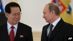 Путін з послом КНДР
