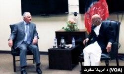 держсекретар США і президент Афганістану