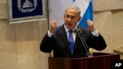 以色列总理内塔尼亚胡。(资料图片)
