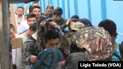 Di dân Guatemala bị Mỹ trục xuất về tới thành phố Guatemala.