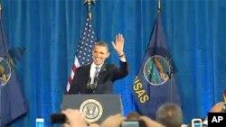 """Обама вели """"сега е моментот"""" за средната класа"""
