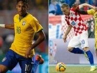 Brazil versus Croatia
