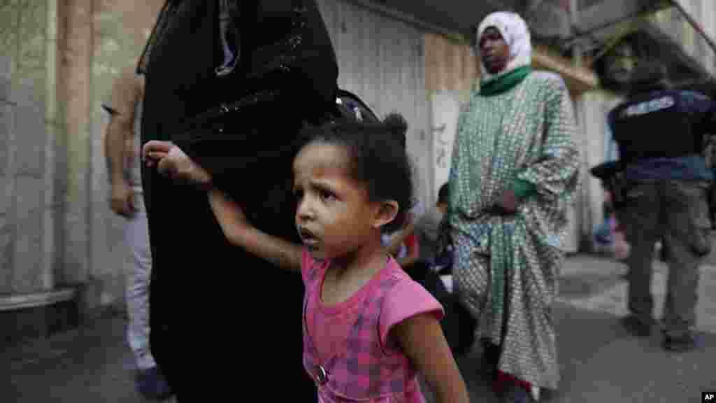 Bafalasdine a Gaza City, Yuli 22, 2014.