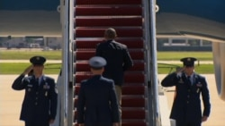 Obama Departs Andrews AFB for Louisiana