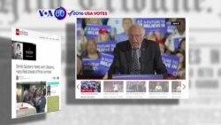 Manchetes Americanas 9 Junho: Obama considera ter sido saudável para o partido democrata a disputa entre Clinton e Sanders