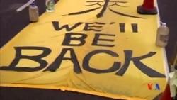 2014-12-10 美國之音視頻新聞: 香港示威者準備面對警察清場