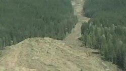 加拿大卑詩省偏遠小社區泥石流四人失蹤