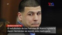 Aaron Hernández se suicida en cárcel de Massachusetts