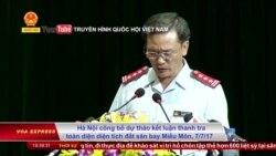 Vụ Đồng Tâm: Hà Nội khởi tố 14 cựu quan chức