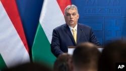 Pemred yang kritis terhadap pemerintahan PM Viktor Orban.dipecat di Hongaria (foto: dok).
