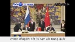 Nga ký hợp đồng khí đốt 30 năm với Trung Quốc (VOA60)