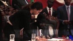 Rais Kiir atia saini makubaliano ya amani ya Sudan Kusini