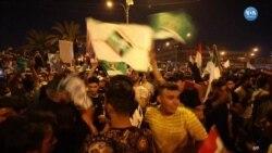 Irak'ta Sadr Yanlıları Seçim Zaferini Kutladı