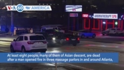 VOA60 Ameerikaa - Six Asian Women Among Eight Victims in Atlanta Area Shooting