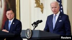 ABŞ Prezidenti Co Bayden və Cənubi Koreya Prezidenti Mun Cae-in