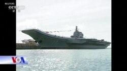 TQ ra mắt tàu sân bay đầu tiên sản xuất nội địa