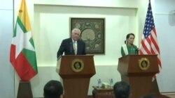 Myanmar Rohingya Tillerson
