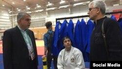مارال مردانی، جودوکار ایرانی، در المپیک جوانان به دلیل داشتن حجاب از مسابقه منع شد.