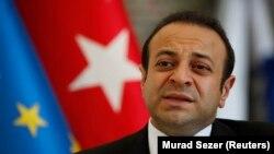 FILE - Turkey's EU Affairs Minister Egemen Bagis.