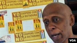 El opositor Guillermo Fariñas, premio Sajarov 2010, también suscribió el documento.