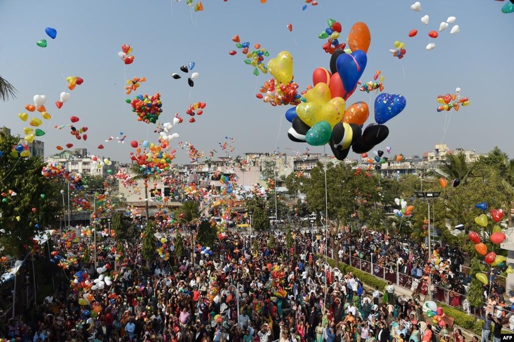 Hindistan'da Hristiyanların yeni yıl kutlaması