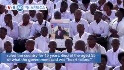 VOA60 Africa - Burundi: Former President Nkurunziza to be buried Friday