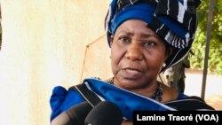 Mariam Sankara, veuve de Thomas Sankara, Ouagadougou, le 11 octobre 2021.