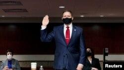 Bivši šef policije Kapitola Stiven Sund na pretresu u Kongresu