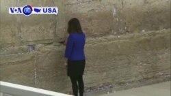 Manchetes Americanas 23 Janeiro 2018: Pence visita o muro de Jerusalém