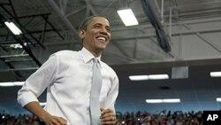 미 대선을 7개월 앞두고, 지난 10일 플로리다 아틀란틱 대학에서 연설한 바락 오바마 미 대통령.