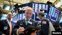 Фондовая биржа Нью-Йорка. 27 февраля 2019 г.